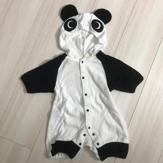 パンダの着ぐるみ★ロンパース 60〜70cm
