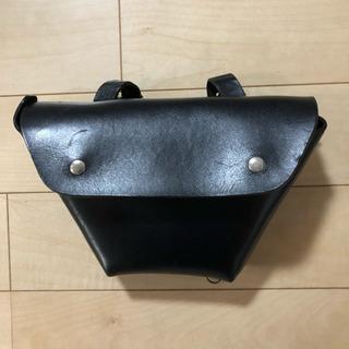 SR400/500専用レザーサイドバッグ