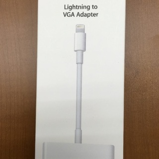値下【未使用】Lightning to VGA Adapter