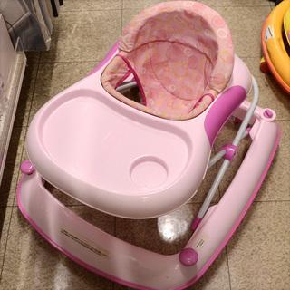 歩行器 ピンク ウォーカー (0220305915-T)