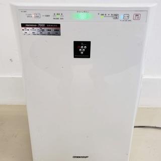 シャープ 高濃度プラズマクラスター7000 加湿機能付空気清浄機...