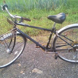 SHIMANO 自転車 Perceive 6段変速ギア 27インチ 黒