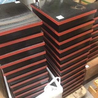 【展示場所がない為特価】漆器 弁当箱 大量入荷
