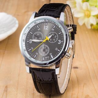 メンズ 腕時計 石英時計 ビジネス 【新品】