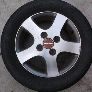 honda moduro 13インチアルミホイル タイヤ付き