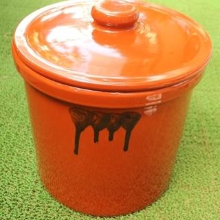 久松製 未使用品 久松窯 漬物容器