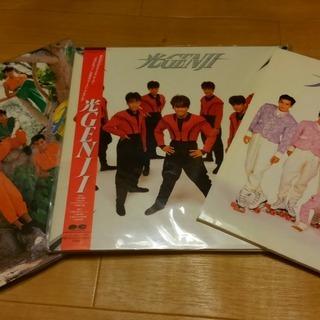 光ゲンジ*レコード*LP盤*2枚と付録