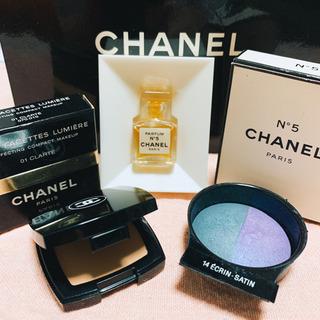 新品 CHANEL No.5 香水&アイシャドウ&フェイスパウダー