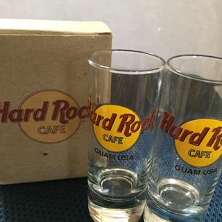 ハードロックカフェ  グラス 2個入り 未使用品