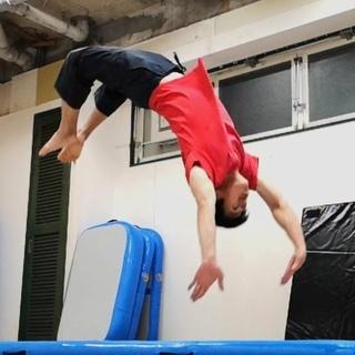 東京でバク転を習うならここ!バク転・アクロバット教室 中野区