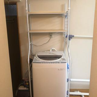 【引き取り】洗濯機用棚