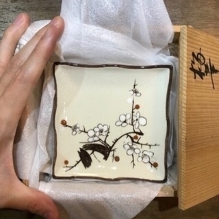 終活⑤小林和馬・馬和子 銘々皿5枚セット★新品未使用