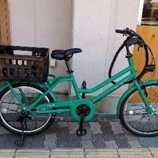 美品☆BRIDGESTONE GREENLABEL 22吋小径車...