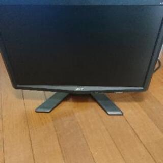 【値下げ】動作確認済 PCモニター ACER x193w LCD...