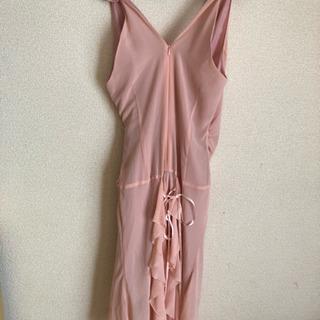 取引中 ワンピース  ドレス ピンク