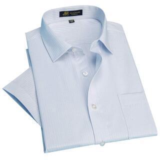 ビジネスシャツ 半袖 洗濯機で洗える 形状記憶Yシャツ