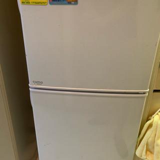 冷蔵庫、洗濯機、電子レンジの3点セット