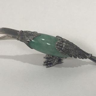 鉱石の鳥 グリーン #置物