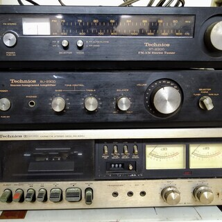 Technics/Panasonic アンプ、ラジオ、カセットプ...