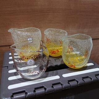 処分価格 琉球ガラス村 未使用グラス まとめ売り