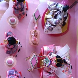 雛人形 3段飾り 京都 小桜雪輪