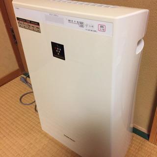空気清浄機プラズマクラスター