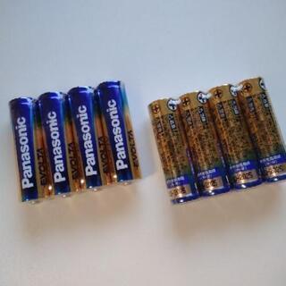 未使用の単3乾電池×8本[期限:2025年]