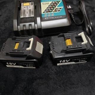 新品・未使用 マキタ互換バッテリー 18v BL1860 6....