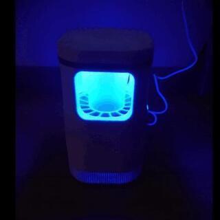 蚊取り器   UV光源誘引式 USBタイプ LEDライト 吸引式捕虫器 蚊ランプ − 静岡県