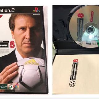 PS2のゲーム ウイニングイレブン8
