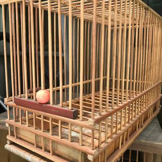 アンティーク鳥籠の画像