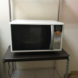 電子レンジ/オーブン/トースターグリル機と電子レンジ台セット