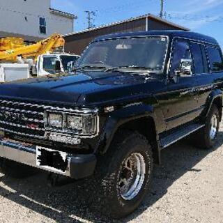 62年式60ランクル、ブラック全塗装,ディーゼル、オートマ、フル...