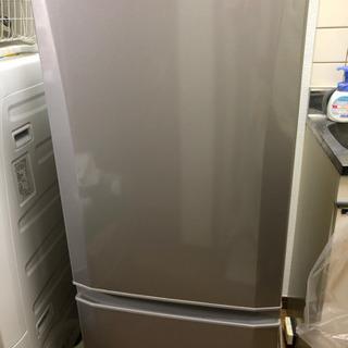 【終了】三菱 ノンフロン冷凍冷蔵庫(MR-P15X-S)