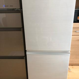 2017年製 SHARP 冷蔵庫 137ℓ