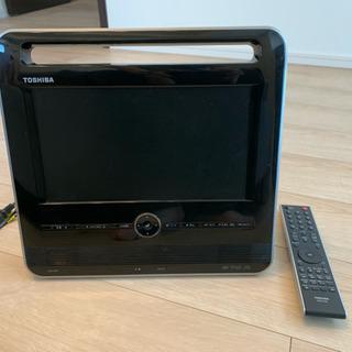 持ち運び可能 DVD再生も可能なテレビ リモコンつき