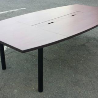 ミーティングテーブルW2400☆79675 未使用