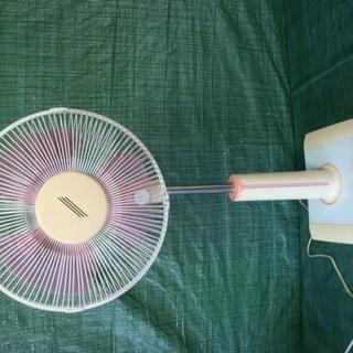 ☆★扇風機 お座敷扇 30センチ 首振り角度調整可能