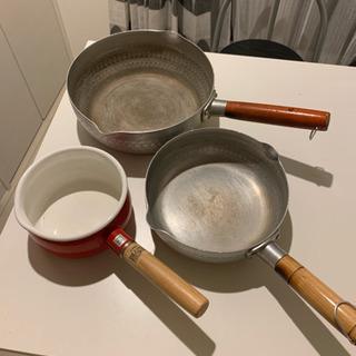 飲食店で使っていた お鍋、フライパン色々