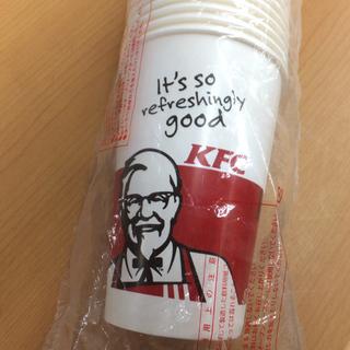 ケンタッキー 紙コップ 50個 未開封 KFC/フライドチキン
