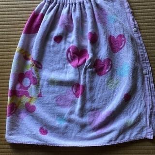 女の子用ラップタオル  60cm