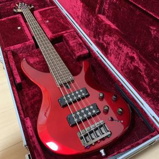 美品ヤマハYAMAHA5弦ベースTRBX-305純正ソフトケース付き