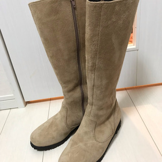 【値下り】天然革雪靴 女性用