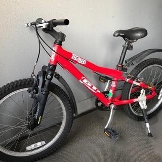 【決まりました】キッズ自転車  GT/MTB  20インチ レッド