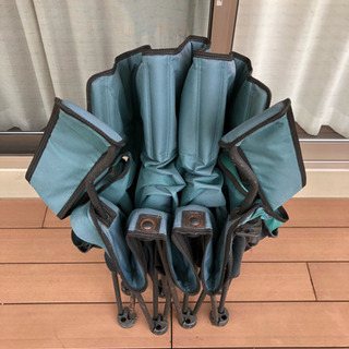 アウトドアチェアー/3人掛け/大型椅子/折りたたみ