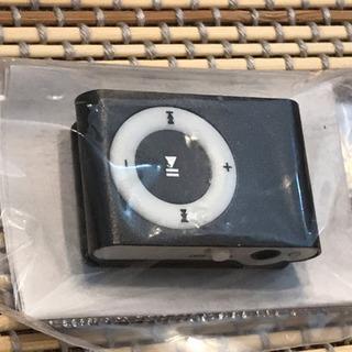 microSDHC 32GB対応クリップMP3プレイヤー(黒)