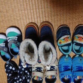 男の子の靴14センチから15センチ