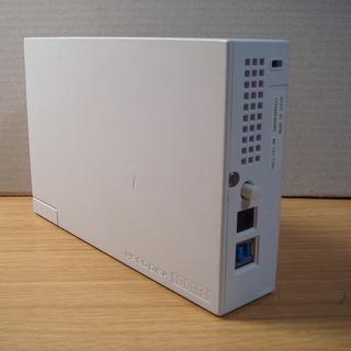 I・O DATA USB3.0対応外付ハードディスク【1.0TB】HDCL-UT1.0W - 藤沢市