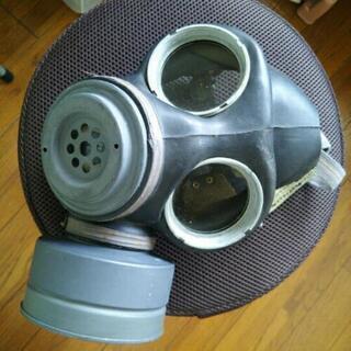 イギリス軍放出品のM45ガスマスク