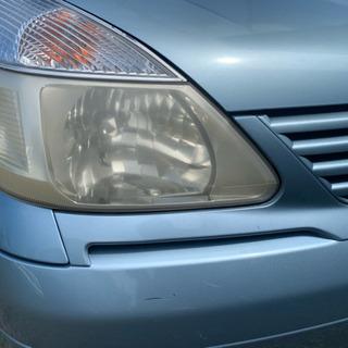 自動車ヘッドライト 黄ばみ取り